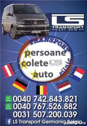 Transport Auto pe platforma Germania Belgia Olanda Anglia  masini - imagine 1
