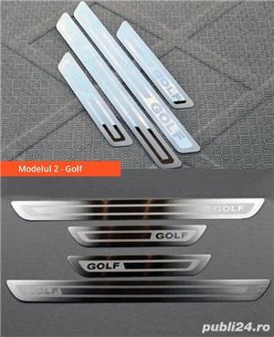Ornamente inox praguri (9 modele) - VW Golf, Passat, Jetta - imagine 3