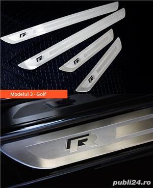Ornamente inox praguri (9 modele) - VW Golf, Passat, Jetta - imagine 4