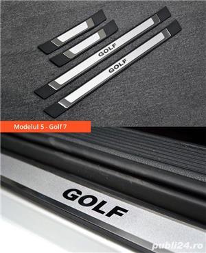 Ornamente inox praguri (9 modele) - VW Golf, Passat, Jetta - imagine 9