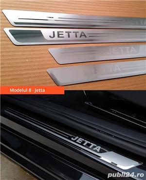 Ornamente inox praguri (9 modele) - VW Golf, Passat, Jetta - imagine 8