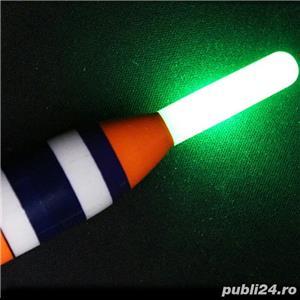 Pluta pescuit mare, electronica cu LED - imagine 1