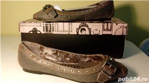 Pantofi/balerini Killah by Miss Sixty noi,37,crem - imagine 1
