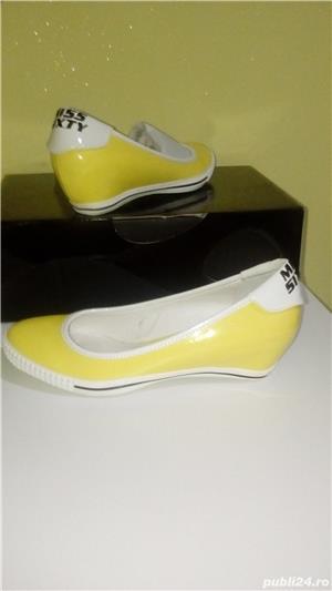 Pantofi/balerini Miss Sixty noi,38 - imagine 1