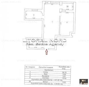 COMISION 0% - Tomis Nord - bloc nou, ap. 2 camere, centrala gaze, la cheie - imagine 3