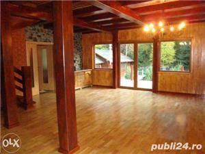 Amenajari interioare, mansarde din lemn, grinzi false ornamentale, tavane din lemn masiv, gresie - imagine 7
