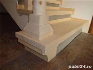 Scari din lemn masiv - imagine 9