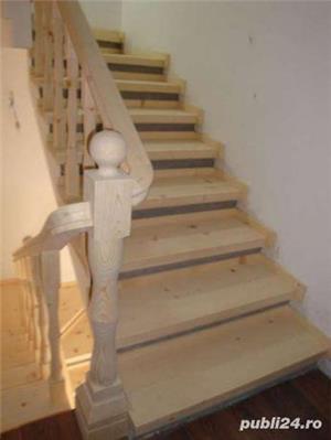 Scari din lemn masiv - imagine 11