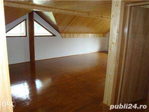 Amenajari interioare, mansarde din lemn, grinzi false ornamentale, tavane din lemn masiv, gresie - imagine 2