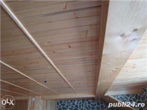 Amenajari interioare, mansarde din lemn, grinzi false ornamentale, tavane din lemn masiv, gresie - imagine 10