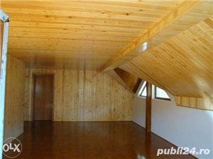 Amenajari interioare, mansarde din lemn, grinzi false ornamentale, tavane din lemn masiv, gresie - imagine 3