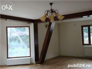 Amenajari interioare, mansarde din lemn, grinzi false ornamentale, tavane din lemn masiv, gresie - imagine 11