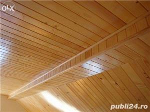 Amenajari interioare, mansarde din lemn, grinzi false ornamentale, tavane din lemn masiv, gresie - imagine 4