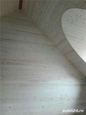 Mansarde cu lemn, rigips, grinzi ornamentale, ancadramente ferestre - imagine 2