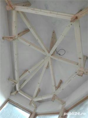 Mansarde cu lemn, rigips, grinzi ornamentale, ancadramente ferestre - imagine 11