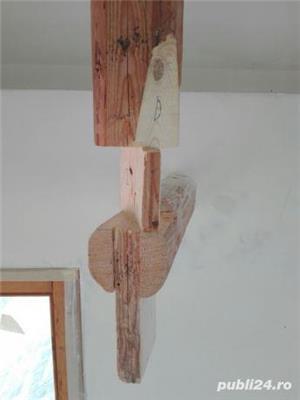 Mansarde cu lemn, rigips, grinzi ornamentale, ancadramente ferestre - imagine 14