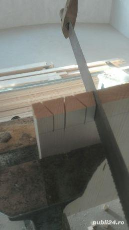 Mansarde cu lemn, rigips, grinzi ornamentale, ancadramente ferestre - imagine 8