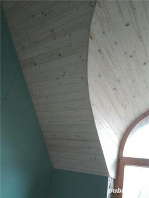 Mansarde cu lemn, rigips, grinzi ornamentale, ancadramente ferestre - imagine 4