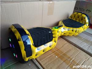 Hoverboard bluetooth full led yellow - imagine 2