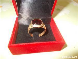Inel aur cu RUBIN oferta speciala - imagine 3
