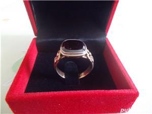 Inel aur cu RUBIN oferta speciala - imagine 4