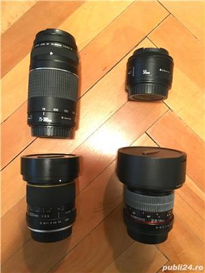 Canon EOS 600D cu 2 obiective si accesorii  - imagine 3