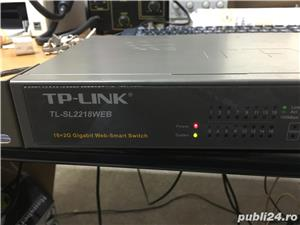 Switch cu Management TP-Link TL-SL2218WEB - imagine 4