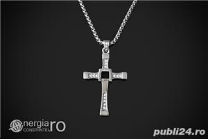Pandantiv Cruciuliţă Cruce Crucifix Dominic Toretto Vin Diesel Fast and Furious INOX - cod PND049 - imagine 4