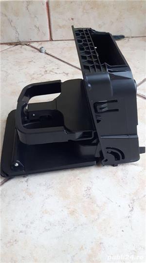 Suport pahare cotiera spate negru VW Golf 5 /6, Jetta. Transport Grautit - imagine 1