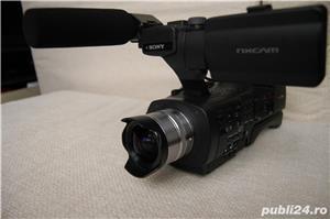 Vand Camera video Sony NEX EA 50 EH cu obiective interschimbabile - imagine 4