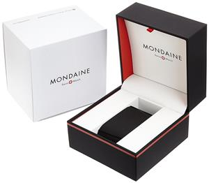 Mondaine Evo 40 Big Date Stainless Steel - imagine 4