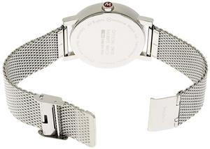 Mondaine Evo 40 Big Date Stainless Steel - imagine 3