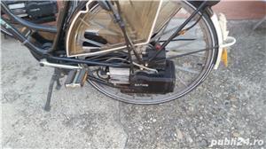 bicicleta  saxonette   cu motor pe benzina - imagine 3
