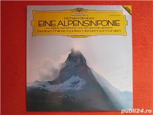 vinil /vinyl Richard Strauss -Eine Alpensinfonie-Herbert von Karajan  - imagine 1