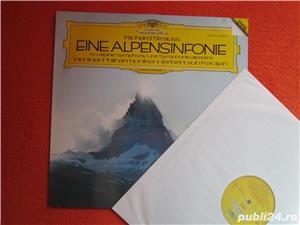 vinil /vinyl Richard Strauss -Eine Alpensinfonie-Herbert von Karajan  - imagine 2