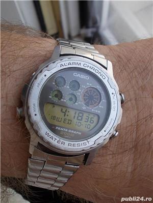 ceas CASIO Penta Graph DW-7200, conditii bune - imagine 1