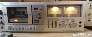 Deck SONY TC-K96R Ferrite Head 2 Motors Auto Reverse Cassette Deck - imagine 3