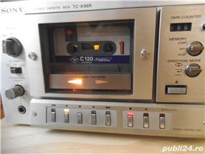 Deck SONY TC-K96R Ferrite Head 2 Motors Auto Reverse Cassette Deck - imagine 7