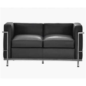 Canapea si fotoliu din piele sau piele ecologica, bar, pub, club, acasa, cabinet, sala asteptare - imagine 1