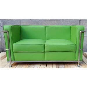 Canapea si fotoliu din piele sau piele ecologica, bar, pub, club, acasa, cabinet, sala asteptare - imagine 2