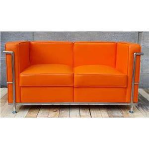 Canapea si fotoliu din piele sau piele ecologica, bar, pub, club, acasa, cabinet, sala asteptare - imagine 13