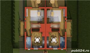 Casa cu 3 camere, curte, 2 locuri parcare, Dumbravita - 99.000 euro - imagine 3