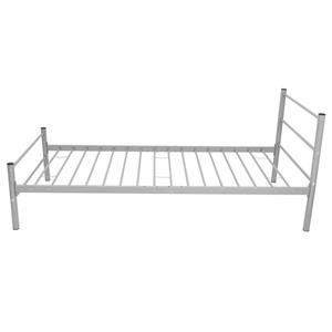 vidaXL Pat metalic, 90 x 200 cm, gri 244055 - imagine 3