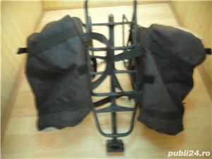 Portbagaj bicicleta cu gentute - imagine 3