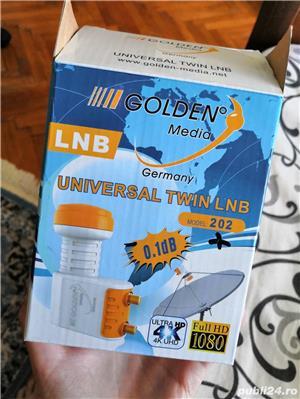 Golden LNB Antena Satelit - imagine 4