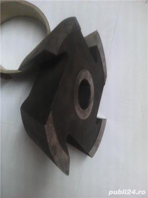 Freze inclinate la 45° si 60° - Ø 120 si 160 mm ptr lemn - tamplarie - imagine 3
