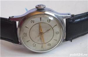 Ceas de colectie UMF RUHLA RDG, anii 60, cal UMF 44, functional - imagine 2