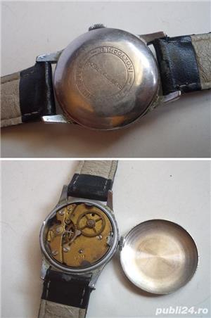 Ceas de colectie UMF RUHLA RDG, anii 60, cal UMF 44, functional - imagine 3