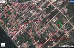 Particular, vand parcela 500 mp (LOT 2) teren intravilan Pitesti zona Tancodrom toate utilitatile - imagine 2
