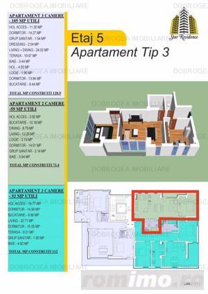 Piata Noua, bloc nou, 2 - 3 camere, COMISION 0% - imagine 14